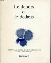 NOUVELLES REVUE DE LA PSYCHANALYSE N°9 1974 : Le dehors et le dedans. - Couverture - Format classique