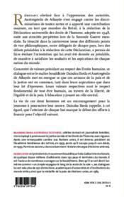 Les droits humains au xxie siecle - un dialogue - 4ème de couverture - Format classique