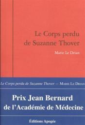 Le corps perdu de Suzanne Thover - Couverture - Format classique