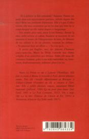 Le corps perdu de Suzanne Thover - 4ème de couverture - Format classique