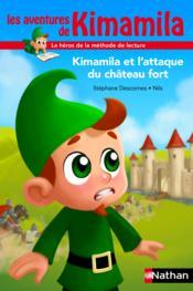 Kimamila et l'attaque du château fort - Couverture - Format classique