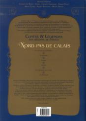 Contes et légendes des régions de France t.3 ; Nord Pas-de-Calais - 4ème de couverture - Format classique