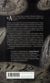Arthus Bayard et les maîtres du temps - 4ème de couverture - Format classique