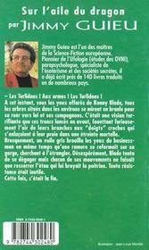 Jimmy Guieu T.125 Sur L'Aile Du Dragon - 4ème de couverture - Format classique
