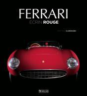 Ferrari ; écrin rouge - Couverture - Format classique