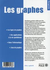 Les graphes ; représenter les données et les stratégies - 4ème de couverture - Format classique
