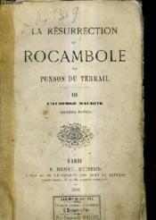 La Resurrection De Rocambole - Tome 3 : L'Auberge Maudite / 2e Edition. - Couverture - Format classique