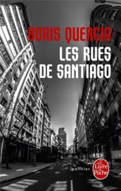 Les rues de Santiago - Couverture - Format classique