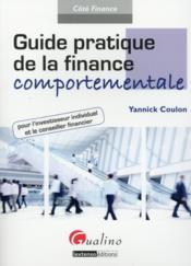 Guide pratique de la finance comportementale - Couverture - Format classique