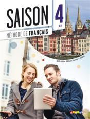 SAISON T.4 ; méthode de français - Couverture - Format classique