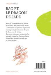 Bao et le dragon de jade - 4ème de couverture - Format classique