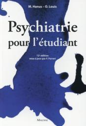 Psychiatrie pour l'etudiant - Couverture - Format classique