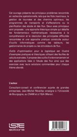 Outils d'optimisation pour la logistique ; théorie et pratique - 4ème de couverture - Format classique