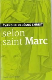 Évangile de Jésus Christ - selon saint Marc - Couverture - Format classique