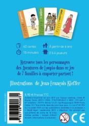 Les aventures de Loupio ; le jeu de 7 familles - 4ème de couverture - Format classique