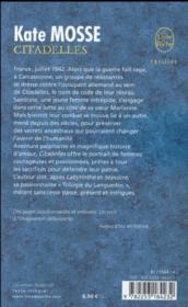 Citadelles - 4ème de couverture - Format classique