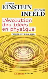 L'évolution des idées en physique - Couverture - Format classique