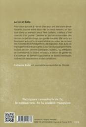 La vie en boîte - 4ème de couverture - Format classique
