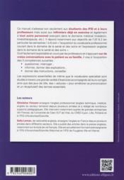 L'Anglais Medical Pour Les Infirmiers - 4ème de couverture - Format classique