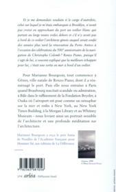 Cinq promenades avec Renzo Piano - 4ème de couverture - Format classique
