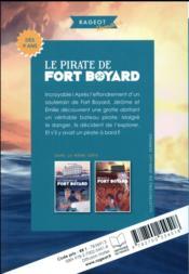 Le pirate de fort Boyard - 4ème de couverture - Format classique