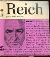 Wilhelm Reich Ou La Revolution Radicale - Collection Philiosophes De Tous Les Temps N°83 - Couverture - Format classique