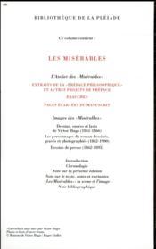 Les misérables - 4ème de couverture - Format classique