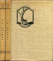 Les Fables De La Fontaine En Deux Volumes - Tomes 1 Et 2. - Couverture - Format classique