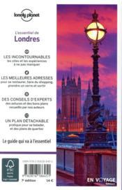 Londres (7e édition) - 4ème de couverture - Format classique