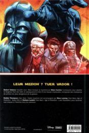 Star Wars ; cible : vador - 4ème de couverture - Format classique