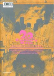 20th century boys - perfect edition T.3 - 4ème de couverture - Format classique
