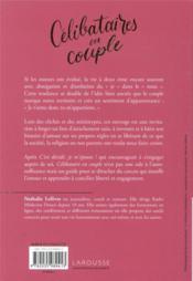 Célibataires en couple ; l'art de s'attacher sans se ligoter - 4ème de couverture - Format classique