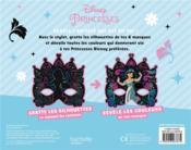 Les ateliers Disney ; Disney Princesses ; masques à gratter - 4ème de couverture - Format classique