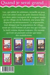 Le Vieil Homme De La Foret - 4ème de couverture - Format classique