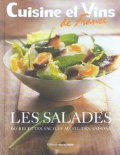 Les salades ; 60 recettes faciles au fil des saisons - Intérieur - Format classique