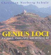 Genius loci 3eme edition - Intérieur - Format classique