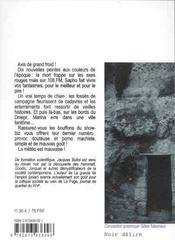 La couleur du temps ; nouvelles noires - 4ème de couverture - Format classique