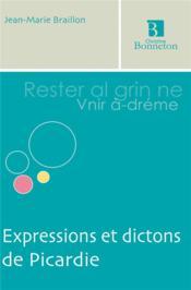 Expressions et dictons de Picardie - Couverture - Format classique