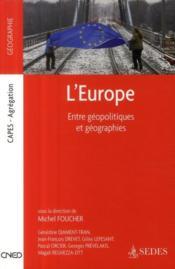 telecharger L'Europe – entre geopolitiques et geographies livre PDF en ligne gratuit