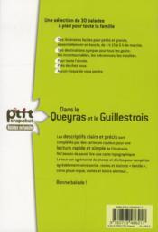 Dans le Queyras et le Guillestrois - 4ème de couverture - Format classique