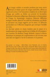 Theatre Et Imaginaire - 4ème de couverture - Format classique