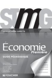 Prise Directe Economie 1re Bac Stmg G.P - Couverture - Format classique