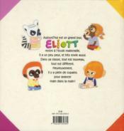 Eliott rentre à l'école - 4ème de couverture - Format classique