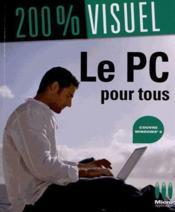 Le PC pour tous ; Windows 8 - Couverture - Format classique