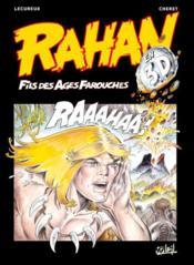 Rahan ; l'enfance et la mort de Rahan, et autres histoires - Couverture - Format classique