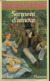 Serment D'Amour. - Couverture - Format classique