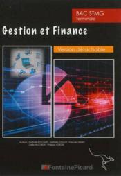 Gestion et finance terminale stmg - Couverture - Format classique
