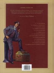 Harry Dickson, le Sherlock Holmes américain T.9 ; le secret de Raspoutine - 4ème de couverture - Format classique