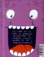 Le livre pour les enfants qui veulent gribouiller des monstres - 4ème de couverture - Format classique