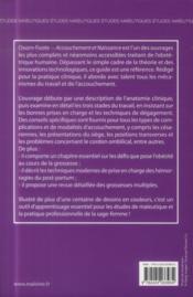Oxorn-foote - accouchement et naissance - 4ème de couverture - Format classique
